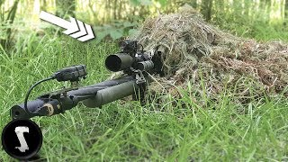 Video Using a Professional Ghillie Suit vs Airsoft Players IN GAME MP3, 3GP, MP4, WEBM, AVI, FLV Juni 2018