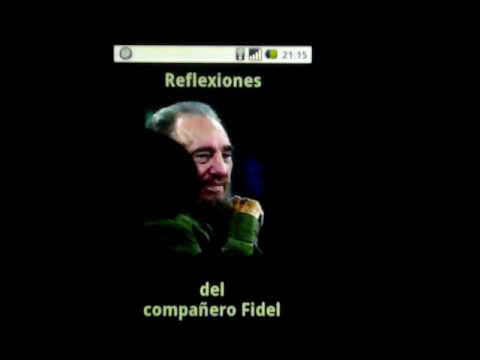 Video of Fidel Castro - Reflexiones