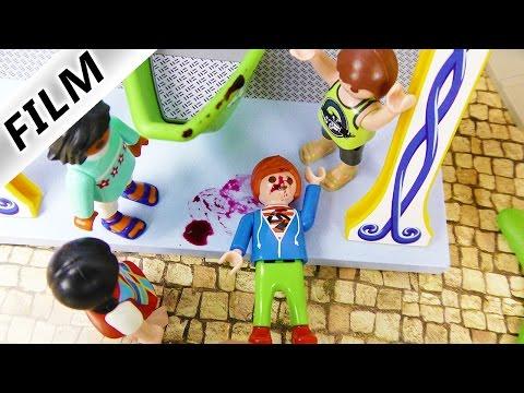Playmobil Film Deutsch - JULIANS BLUTIGER UNFALL AUF DER KIRMES! TYPISCH JULIAN! Familie Vogel