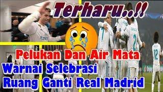 Download Video TERHARU..! Pelukan Dan Air Mata Warnai Selebrasi Ruang Ganti Real Madrid, 1 kata Buat Real Madrid? MP3 3GP MP4