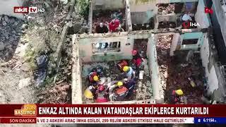 Gaziosmanpaşa'da Deprem Tatbikatı - Akit Tv