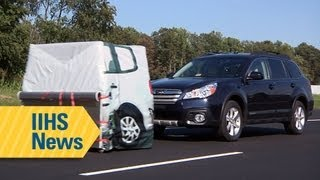 IIHS - Collision Avoidance Testing Demonstration