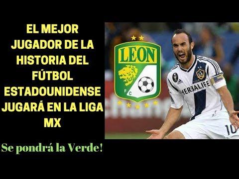 OFICIAL  Landon Donovan sale del retiro y firma con el León de México