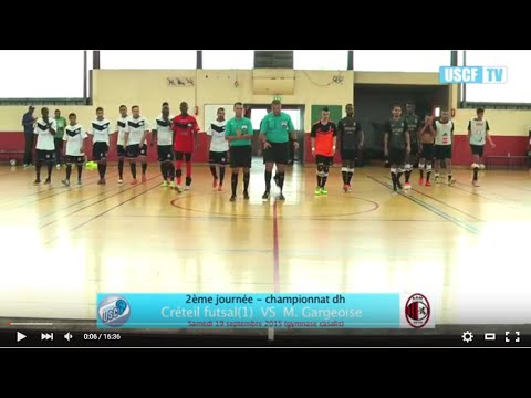 Créteil futsal(1) 2-2 M. Gargeoise (Champ. dh - J2)