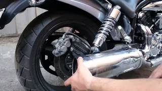 9. Hyosung GV 650 Exhaust Modification