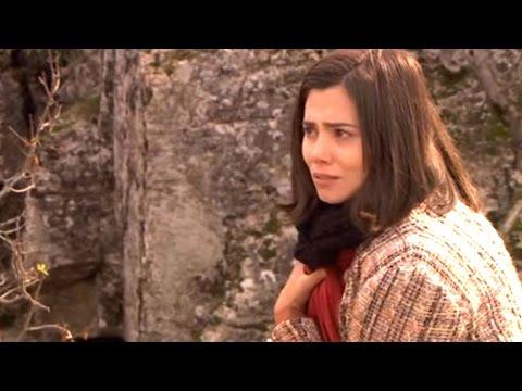 il segreto - maria disperata si getta nel fiume con esperanza