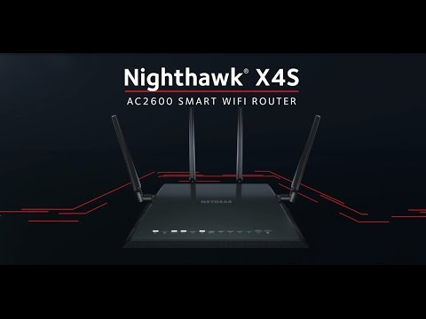 NETGEAR Nighthawk® X4S Wireless Gaming Router - R7800 AC2600 Smart WiFi Router Product Tour