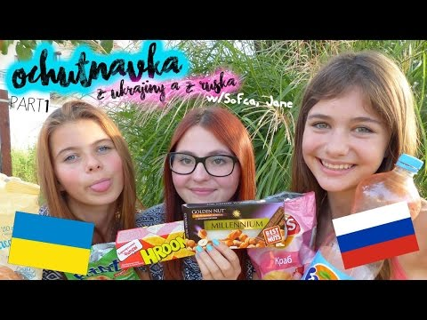 OCHUTNÁVKA Z UKRAJINY A RUSKA w/Sofča,Jane (PART 1)