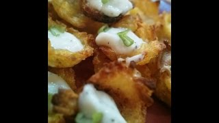 Crispy Potato Cups - Appetizers