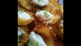 Crispy Potato Cups - Appetizers