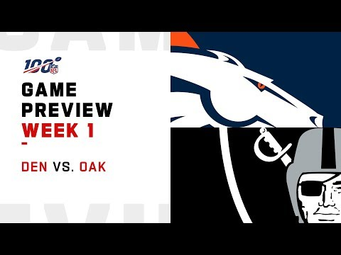 Denver Broncos vs. Oakland Raiders | Week 1 Game Preview | Move the Sticks