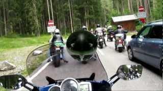 8. Dolomity 2012 - YAMAHA  FJR 1300