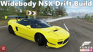 Forza Horizon 4: Rocket Bunny NSX-R, FULL DRIFT BUILD! Does it Work?