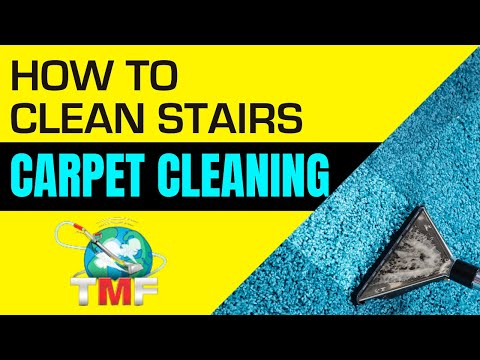 How to clean stairs-Carpet Cleaning