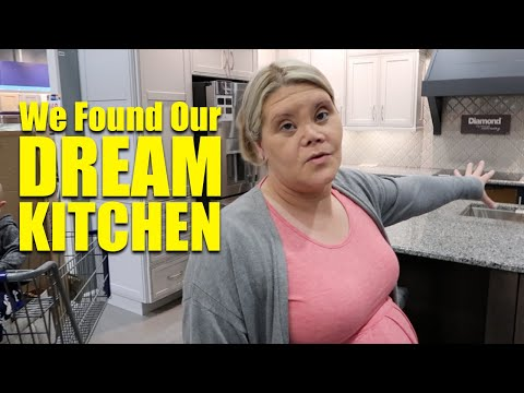 We picked out our kitchen