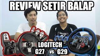 Review Setir Balap Mobil Logitech G29 vs G27 Untuk Komputer