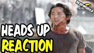 THE WALKING DEAD Season 6 Episode 7 Heads Up NERD REACTION