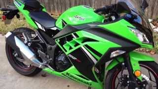 9. The new 2014 Kawasaki Ninja 300 Special Edition review