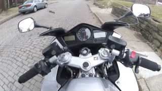 9. Akumu's Former Digital Silver Metallic Honda VFR 800 ABS Interceptor w/ Delkevic System (2014)