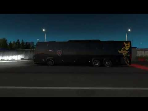 Scania Touring Bus with officially skin 2019 1.34.x