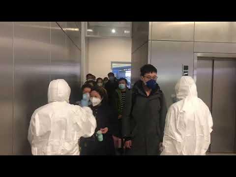 Αναζήτηση πιθανού κρούσματος του νέου κορονοϊού στην πύλη αφίξεων του αεροδρομίου