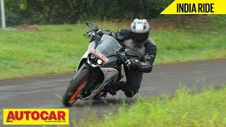 9. 2014 KTM RC200 | India Ride Video Review | Autocar India