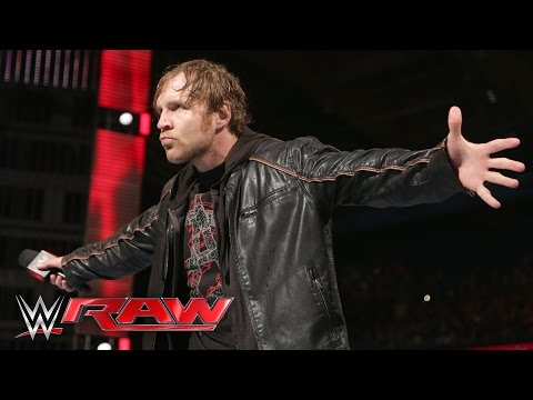 Dean Ambrose ponders his potential WWE World Heavyweight Championship reign: Raw, March 7, 2016