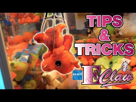 How to win at E Claw machines - Tips and tricks! | The Crane Couple