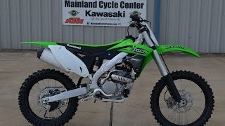 7. $7,599:  2016 Kawasaki KX250F Overview and Review