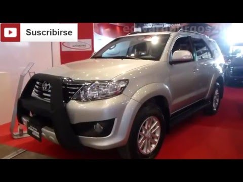 2014 Toyota Fortuner Urbana 2014 video review Caracteristicas versión Colombia