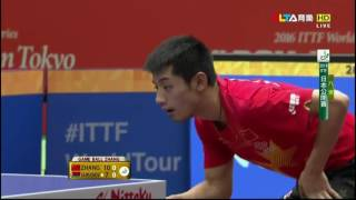 2016 Japan Open (MS-QF) ZHANG Jike - SAMSONOV Vladimir [HD]