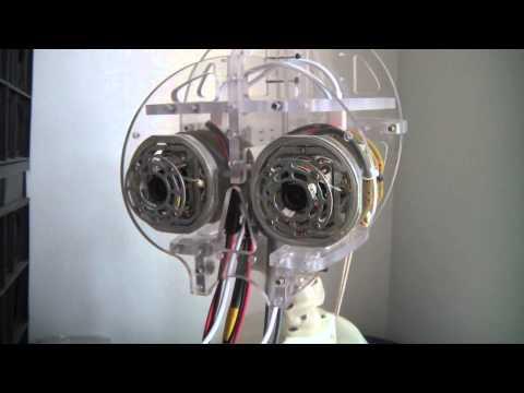 Калибровка и синхронное движение глаз робота