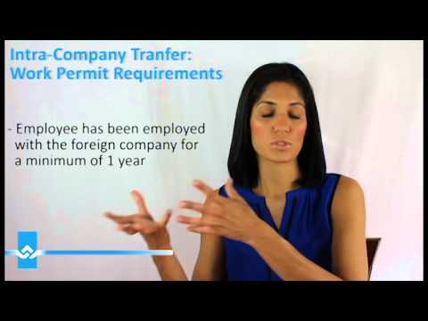 Intra Company Transferee Work Permit Requirements for Canada Video