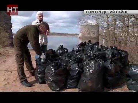 Сегодня на территории Сиверсова канала высадился ежегодный экологический десант