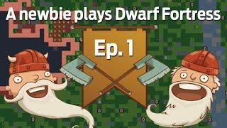 A newbie plays Dwarf Fortress 2014: Ep. 1