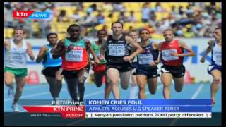 KTN Prime: Athlete Daniel Komen Accuses Uasin Gishu Speaker Terer Of Foul Play, 20/10/2016