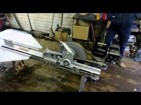 Как  сделать реечный дровокол