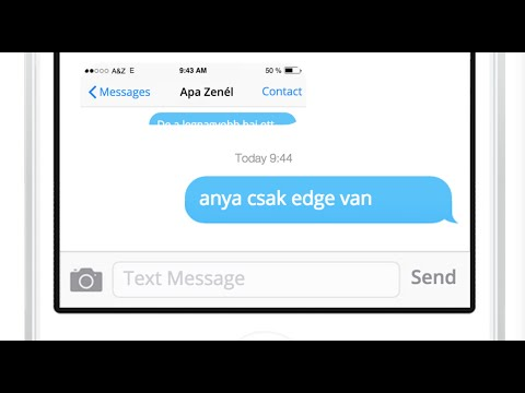 Apa Zenél - Anya csak edge van