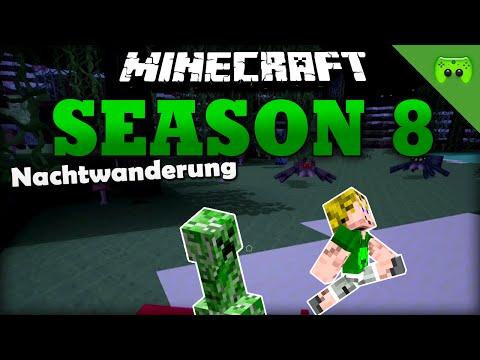 Nachtwanderung «» Minecraft Season 8 # 2 | HD