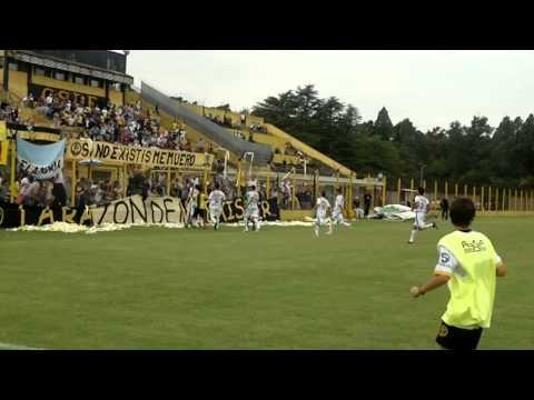 Gol de Tiro Libre de Goñi a Brown de Adrogue - La Barra de Flandria - Flandria