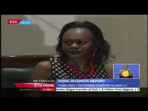 KTN Prime: Kenya jumps 21 places to 92 on global list on doing business, 26/10/16