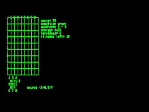 Star Trek 6.8 for the Commodore PET\\Commodore CBM