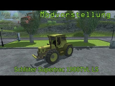 Schluter Supertrac 1900TVL LS Mercedes prototype v2.0 MR
