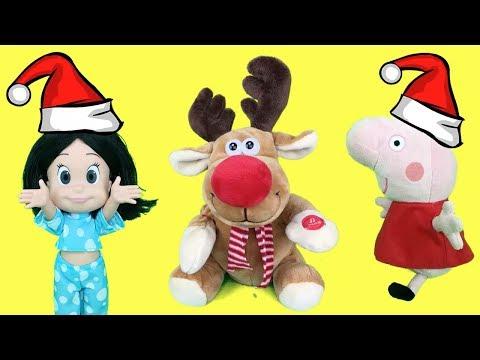 Peppa Pig en español - Cleo y Cuquín Navidad en español: canciones infantiles y villancicos para niños.Videos Peppa Pig