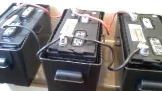 Video Installing 4kW/Hr battery bank with 800W 120V Inverter and Trickle Charger from Tactical Woodgas MP3, 3GP, MP4, WEBM, AVI, FLV Juni 2019