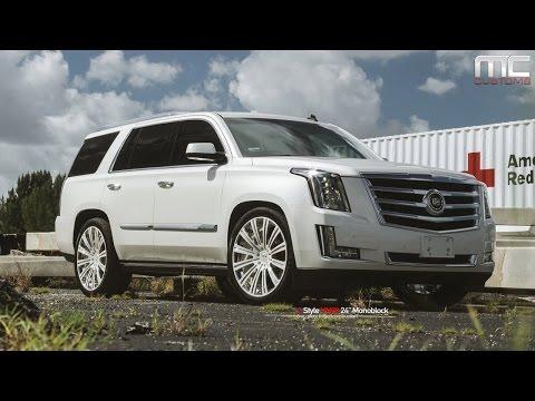 MC Customs | Cadillac Escalade · Vellano Wheels