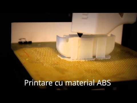 Printare carcasa telefon cu UP Plus 3D printer