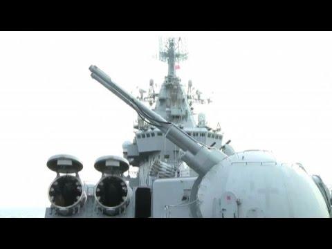 La Moskva: orgoglio della marina russa veglia sulla base siriana