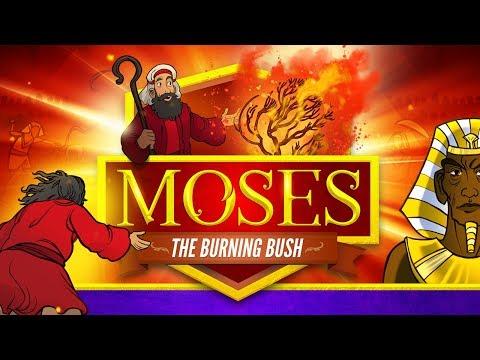 Moses And The Burning Bush Bible Story Animation - Exodus 3   Online Sunday School   ShareFaith.com