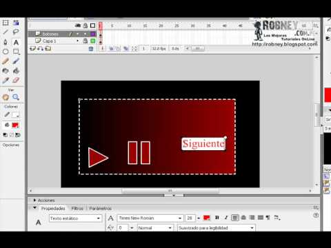 Crear Reproductor MP3 En Macromedia Flash 8 (Parte 1)